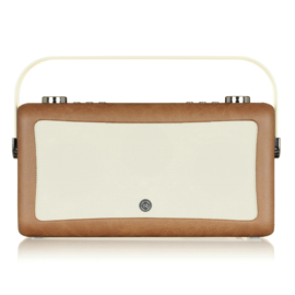View Quest Hepburn MK 2 DAB+ radio met FM en Bluetooth, Brown