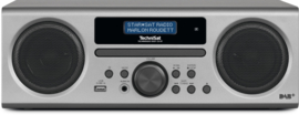 TechniSat TechniRadio Digit CD BT stereo radio met DAB+, FM, CD, USB en Bluetooth, zilver