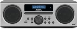 TechniSat TechniRadio Digit CD BT stereo radio met DAB+, FM, CD, USB en Bluetooth, zilver