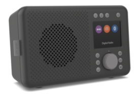 Pure Elan DAB+ en FM portable radio met Bluetooth, Charcoal