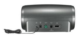 Sangean Fusion 110 (RCR-11 WF) stereo wekkerradio met internetradio, USB en DAB+