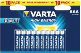 Varta AAA batterijen - 10 pak