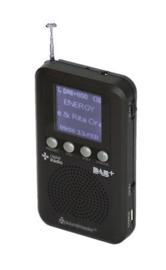 Soundmaster DAB170SW zakradio met DAB+ en FM