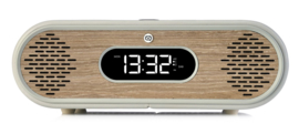 View Quest Rosie-Lee DAB+ wekkerradio met FM en Bluetooth,  Light Grey Green Grass Oak, OPEN DOOS