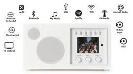 Como Audio Solo radio met wifi internet, DAB+, Spotify en Multi room, Piano Black