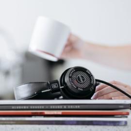 Grado Prestige SR225e stereo hifi hoofdtelefoon