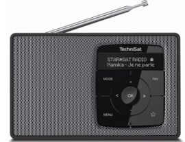 TechniSat DIGITRADIO 2 draagbare DAB+/FM radio met Bluetooth audio streaming