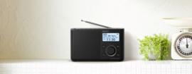 Sony  XDR-S61D Portable Digitale radio DAB+ FM, zwart
