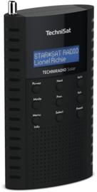 TechniSat TechniRadio Solar portable DAB+ en FM radio met ingebouwde zonnepaneel en oplaadbare accu, blauw