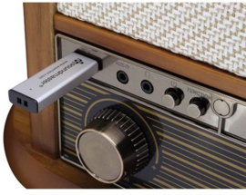 Soundmaster NMC549 DABBE retro muzieksysteem, platenspeler, CD, DAB+, FM, Cassette en USB