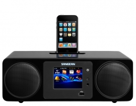 Sangean WFR-2D digitale internetradio met DAB+, Apple docking, Bluetooth en USB