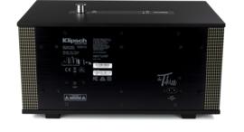 Klipsch The Three hi-fi Bluetooth luidspreker met Google Assistant, Zwart
