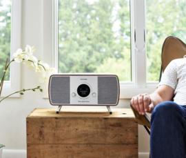 Tivoli Audio ART Music System Home Generatie 2 alles-in-één hifi-systeem met internet, DAB+, FM, Spotify en Bluetooth, walnoot