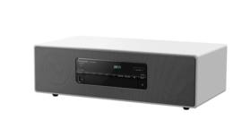 PANASONIC SC-DM504EG stereo audiosysteem met Bluetooth, CD, DAB+ en FM, wit