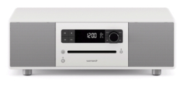 sonoro STEREO 2 SO-320 2.1 stereo muzieksysteem met DAB+ en FM, CD speler, USB en Bluetooth, hoogglans wit