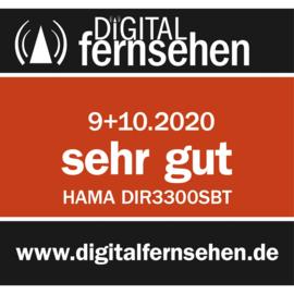 Hama DIR3300SBT stereo hybride digital radio met internet, DAB+, FM en Bluetooth, wit