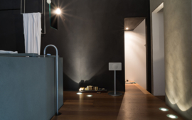 Geneva Classic /M stereo hi-fi speaker met FM en DAB + radio, Bluetooth en alarmklok, zwart, OPEN DOOS