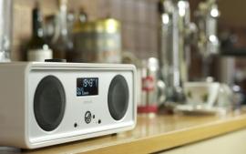 Vita Audio R2i DAB DAB+ FM iPod iPhone muzieksysteem in wit