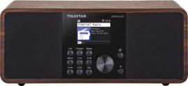 Telestar DIRA S 24i stereo radio met DAB+, FM, Bluetooth, USB en Internet