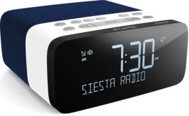 Pure Siesta Rise S wekkerradio met DAB+ FM en Bluetooth, Navy