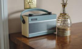 Roberts Rambler BT retro DAB+ radio met FM en Bluetooth, blauw