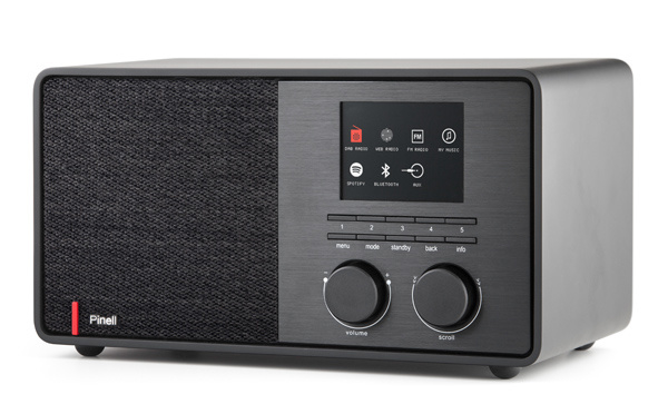 Pinell Supersound 301 DAB+ radio met internet, Spotify Connect en Bluetooth