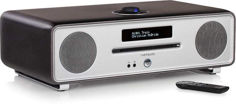 Ruark Audio R4-30 Limited Edition Stereo muziekcentrum met CD, DAB+, Bluetooth, FM en USB, Satin Titanium