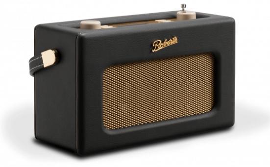 Roberts Revival RD70 DAB+ en FM radio met Bluetooth, Zwart