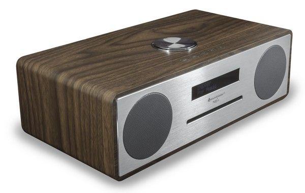 Soundmaster DAB950 BR stereo muziekcentrum met DAB+, CD, USB en Bluetooth, hout