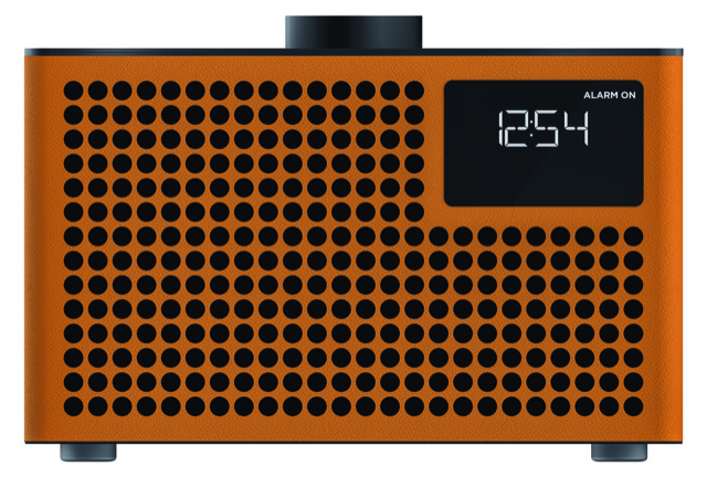 Geneva Acustica Lounge Radio hi-fi DAB+ en FM radio met Bluetooth, cognac