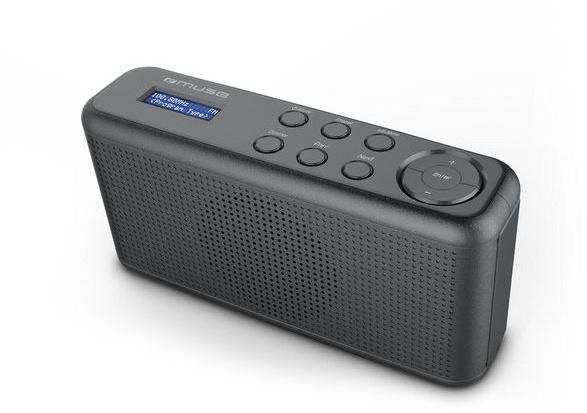 Muse M-102 DB compacte DAB+ radio met FM