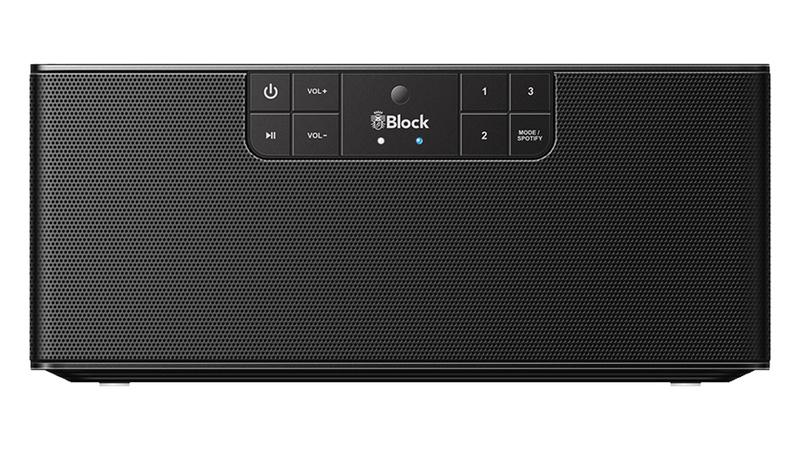 Block ABC - type B stereo netwerk luidspreker met internet radio, Spotify, Bluetooth, USB en mulitroom, zwart