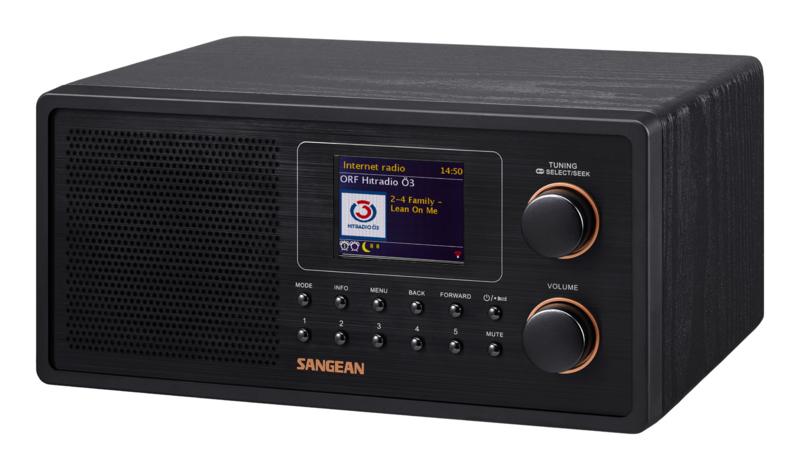Sangean Fusion 300 (WFR-30) luxe digital radio met internet, Spotify, DAB+ en FM