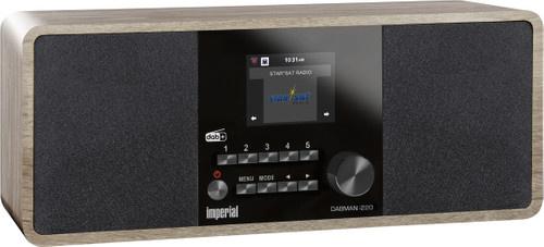 Imperial DABMAN i220 stereo hybride internetradio met Spotify, Bluetooth, DAB+ en FM, vintage
