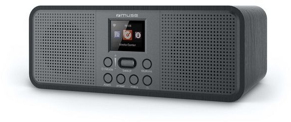 Muse M-122 DBT stereo radio met FM, DAB+ en Bluetooth ontvangst