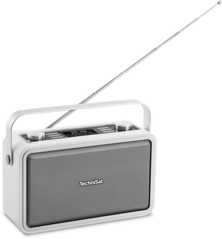 TechniSat DigitRadio 225 Stereo draagbare en oplaadbare DAB+ radio met Bluetooth