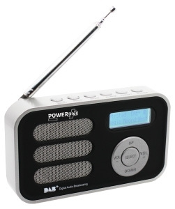 POWERPlus Stork Solar DAB+ en FM radio met alarm