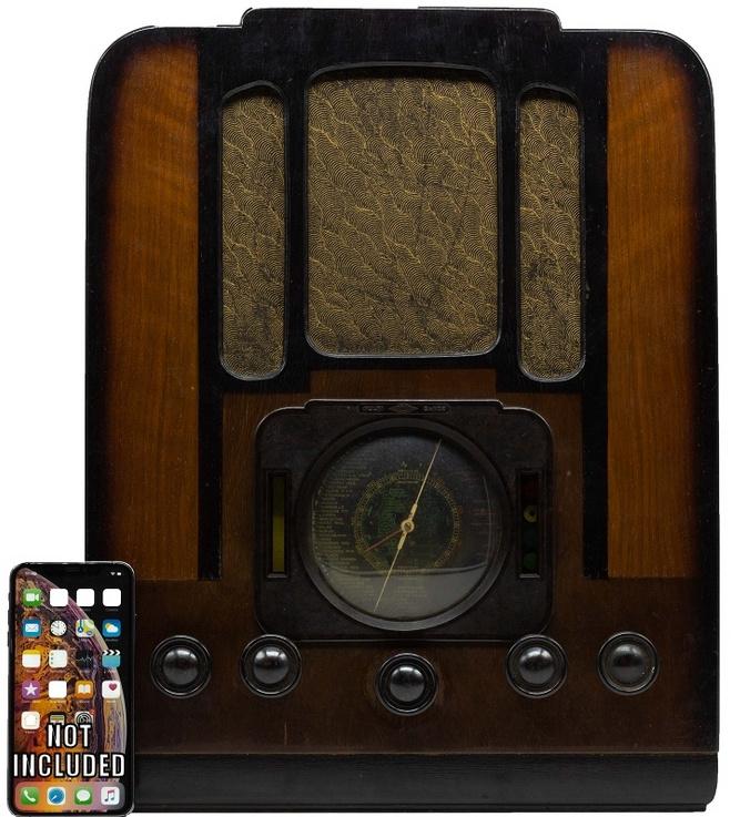 A.bsolument Nr. 874 - Echte Vintage Jaren 30 Radio met Bluetooth en audio ingang