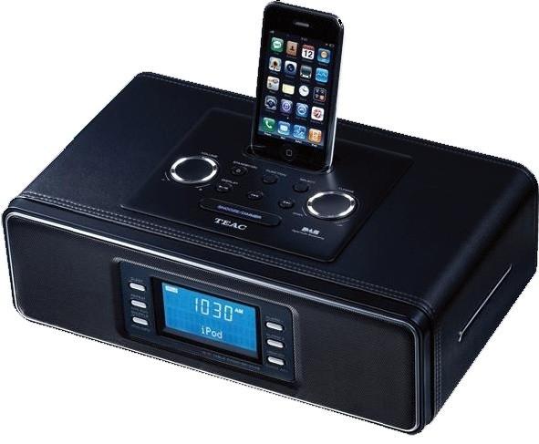 TEAC SR-2 stereo AM FM radio met iPod / iPhone dock