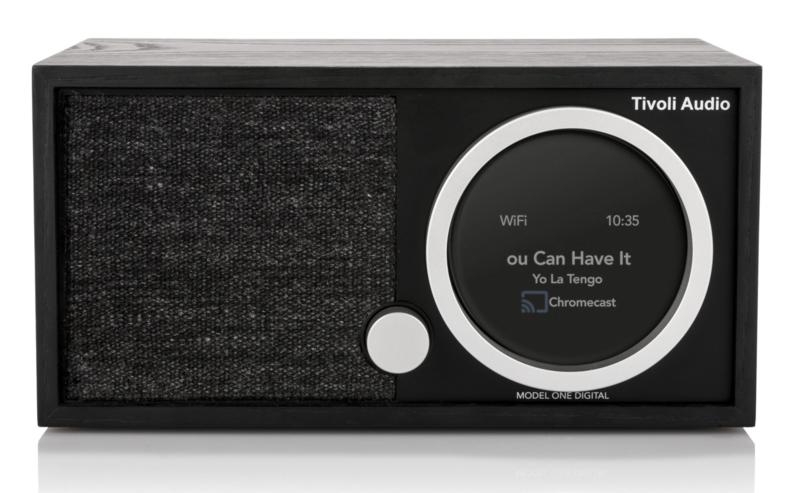 Tivoli Audio ART Model One Digital Generatie 2 met internetradio, DAB+, FM, Spotify en Bluetooth, black ash