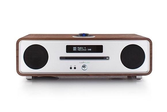 Ruark Audio R4 Mk3 IMS Stereo muziekcentrum met CD, DAB+, Bluetooth, FM en USB, Rich Walnut