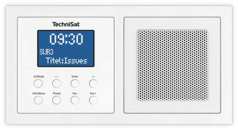 Technisat DigitRadio UP 1 DAB+, FM en Bluetooth inbouwradio, OPEN DOOS
