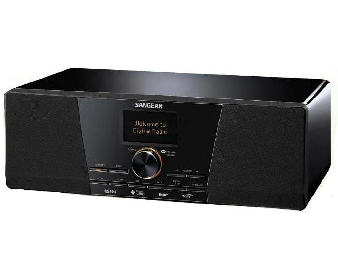 Sangean WFR-1D+ internetradio met WiFi / FM / DAB+