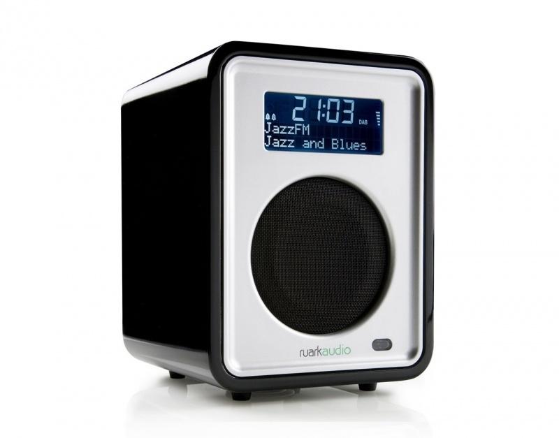 Ruark Audio R1 DAB, DAB+ en FM tafelradio, Midnight Black