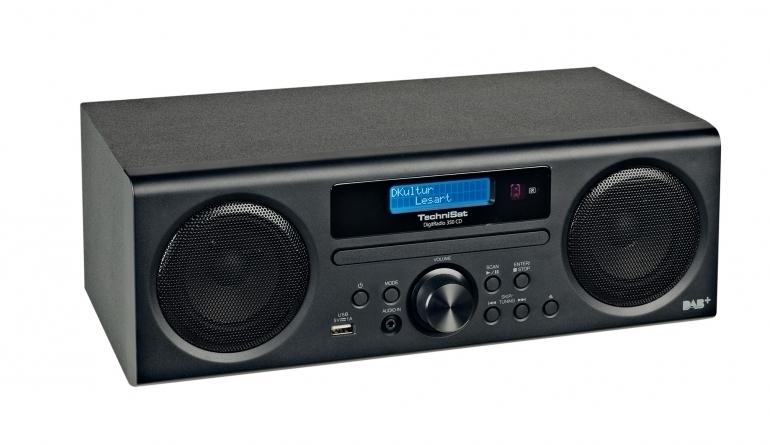 TechniSat DigitRadio 350 CD radio met DAB+, FM, CD en USB, zwart ex-demo