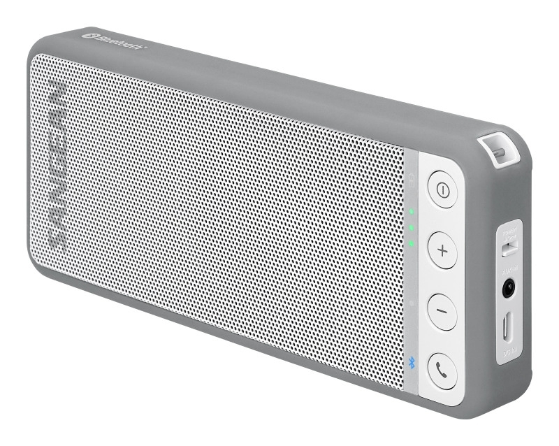Sangean BluTab BTS-101 portable stereo Bluetooth luidspreker, grijs