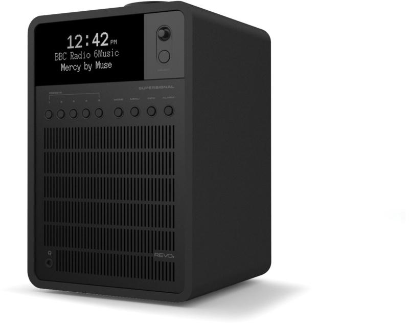 Revo SuperSignal radio met FM, DAB+ en aptX Bluetooth, shadow, zwart
