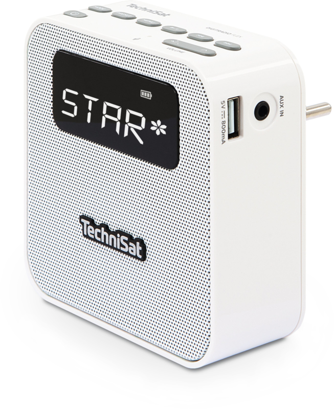 Technisat Flex wandradio met DAB+, FM, Bluetooth en USB oplaadpunt