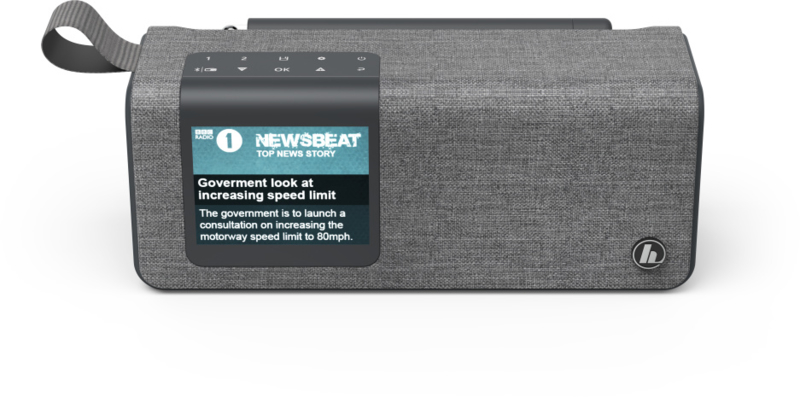 Hama DR200BT digitale oplaadbare radio met DAB+, FM en Bluetooth ontvangst