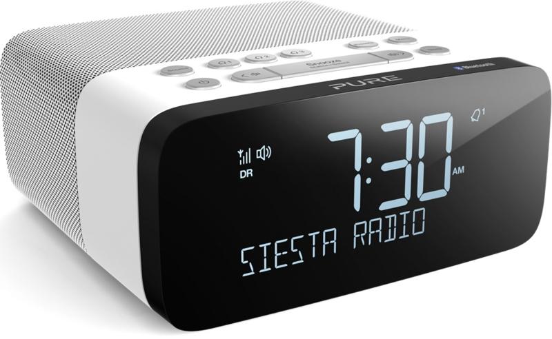 Pure Siesta Rise S wekkerradio met DAB+ FM en Bluetooth, Polar